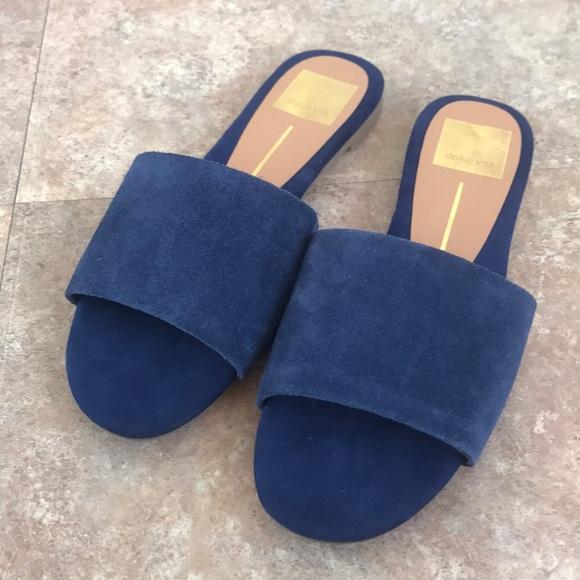 57bf712fa5ba Dolce Vita Women s Sandals Flip Flops Suede 6 M